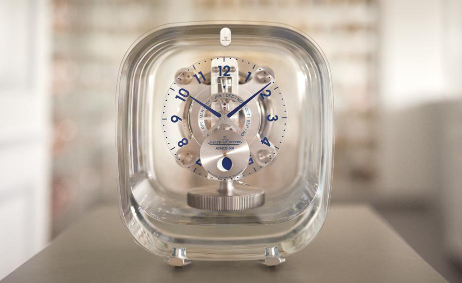 jaeger lecoultre atmos glass crystal clock replica